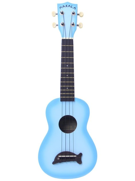 Makala dolphine Ukulele light blue