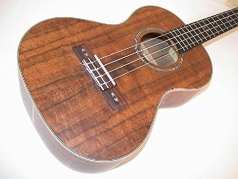 lanikai concert ukulele koa