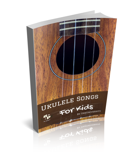 Cover of 22 ukulele songs for Kids